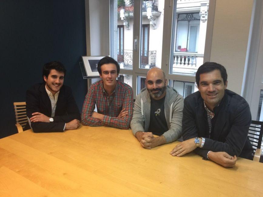 Iñaki Arrola (Vitamina K) y David Bonilla (Otogami) en Rompiendo Reglas, Capital Radio con Javi Sánchez y Carlos Regatero