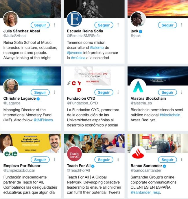 Cuentas que sigue Ana Botín