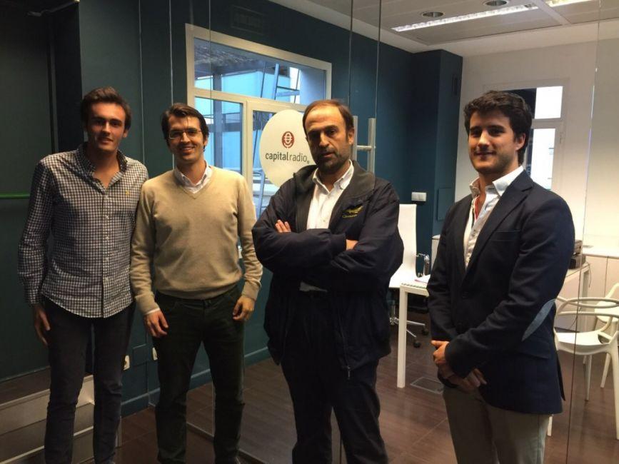 José Martín Cabiedes (Cabiedes & Partners) e Ignacio Guillén (Traventia) en Rompiendo Reglas, Capital Radio. Con Javi Sánchez y Carlos Regatero