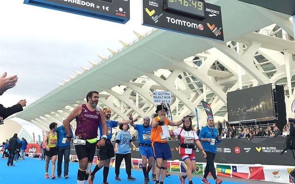 Maratón de Valencia. Foto: Facebook Oficial Valencia Ciudad del Running