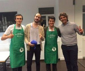 Marcos Alves (ElTenedor) y Alberto Bravo (We Are Knitters) en Rompiendo Reglas, con Javi Sánchez y Carlos Regatero. Capital Radio.