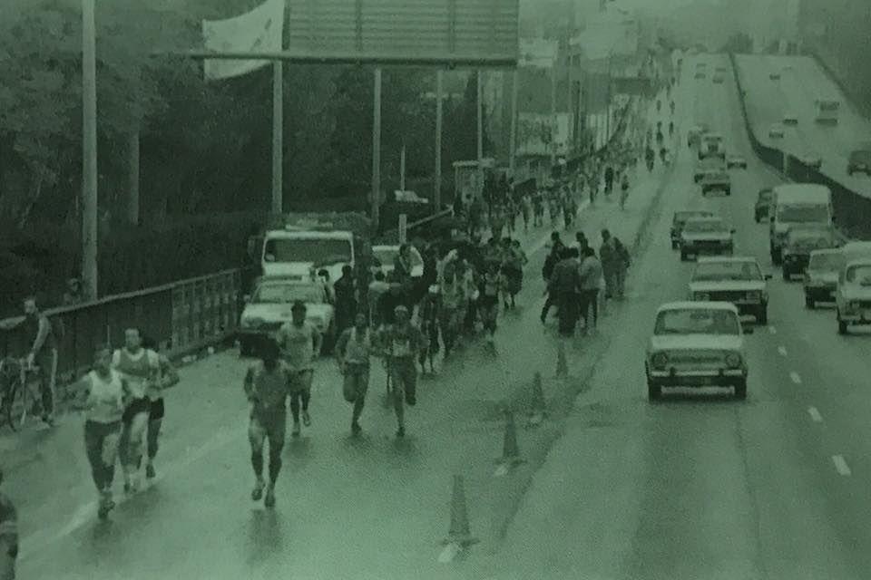 Una de las primeras ediciones del Maratón de Madrid. Fuente: Facebook del EDP Rock 'n' Roll Madrid Maratón & 1/2