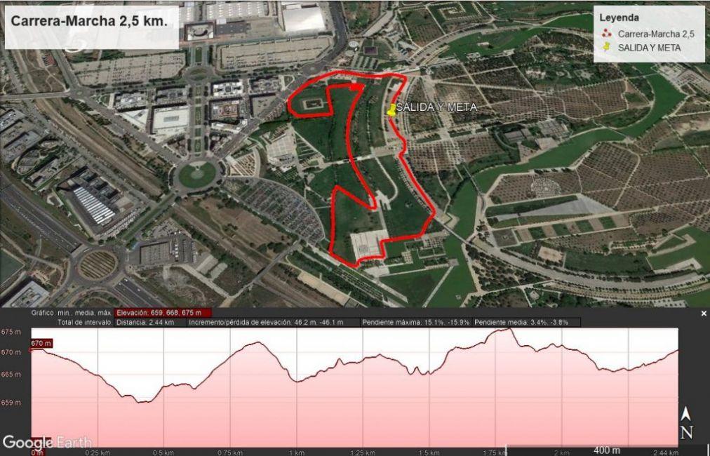Marcha 2.5 km - Carrera a favor de Down Madrid - A TU RITMO - Capital Radio