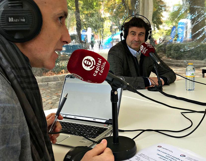 El 'masterchef' Pepe Rodríguez, con Chimo Ortega
