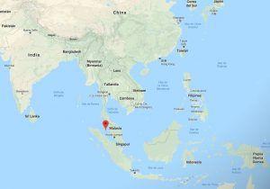 Indonesia, Tailandia, Malasia y Singapur son los estados con jurisdicción sobre el estrecho de Malaca