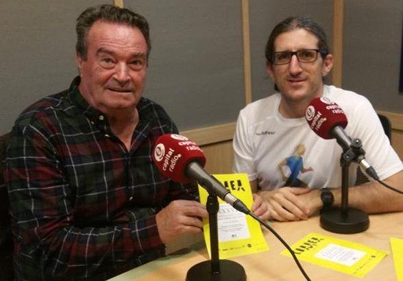 Pepe Cano, con el director de A tu Ritmo, Luis Blanco