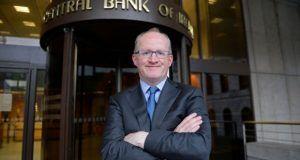 Philip Lane, gobernador banco de Irlanda